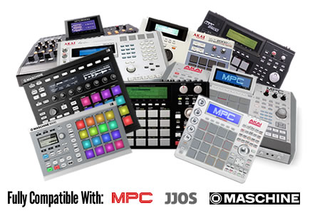 Fully Compatible With All MPCs, all JJOS and Maschine