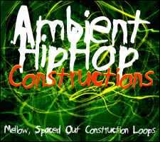 MPC-Samples Ambient Hip Hop Constructions hangminta kollekció AKAI MPC sampler-ekhez